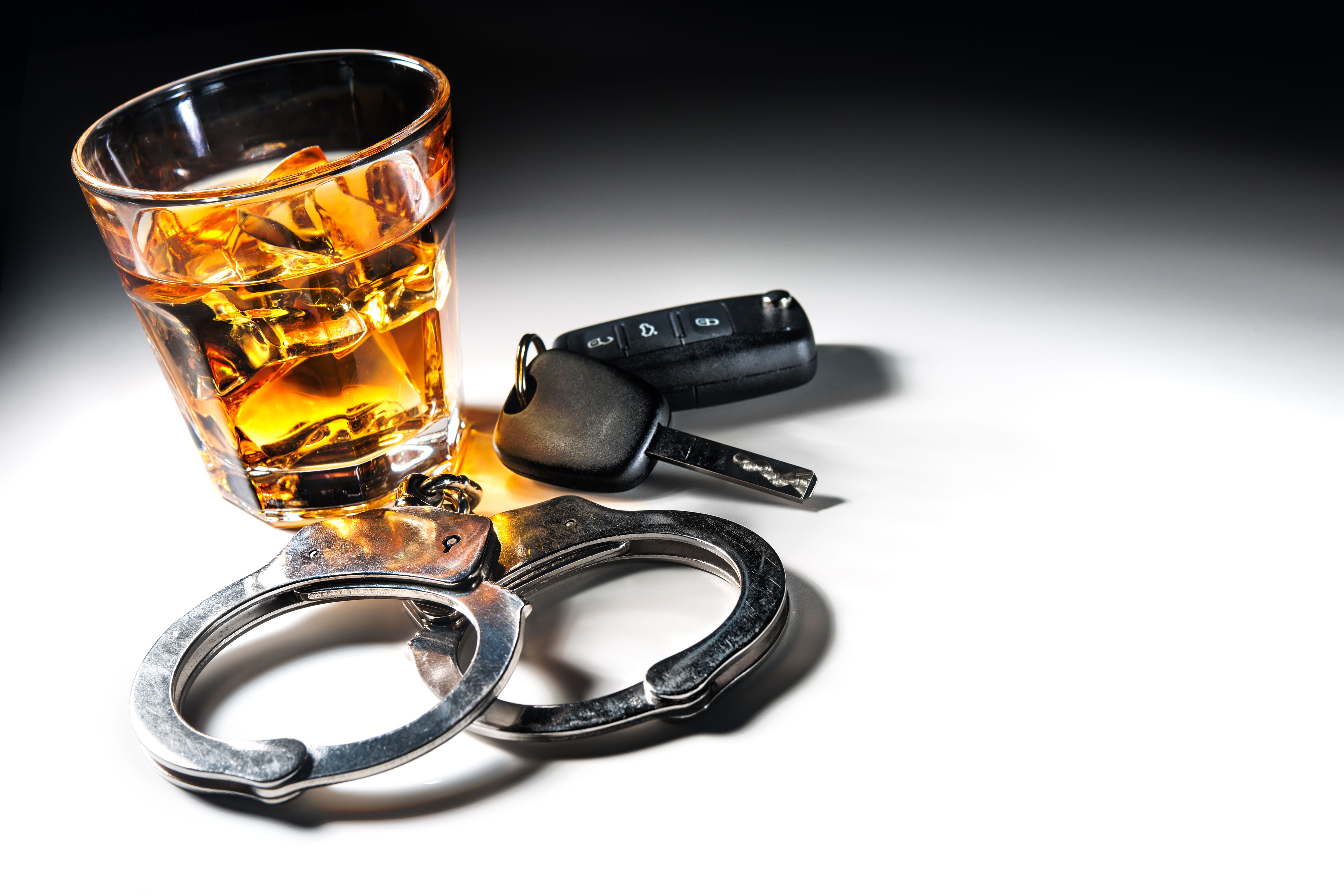 Car keys, handcuffs and alcohol - Arkansas DWI Laws